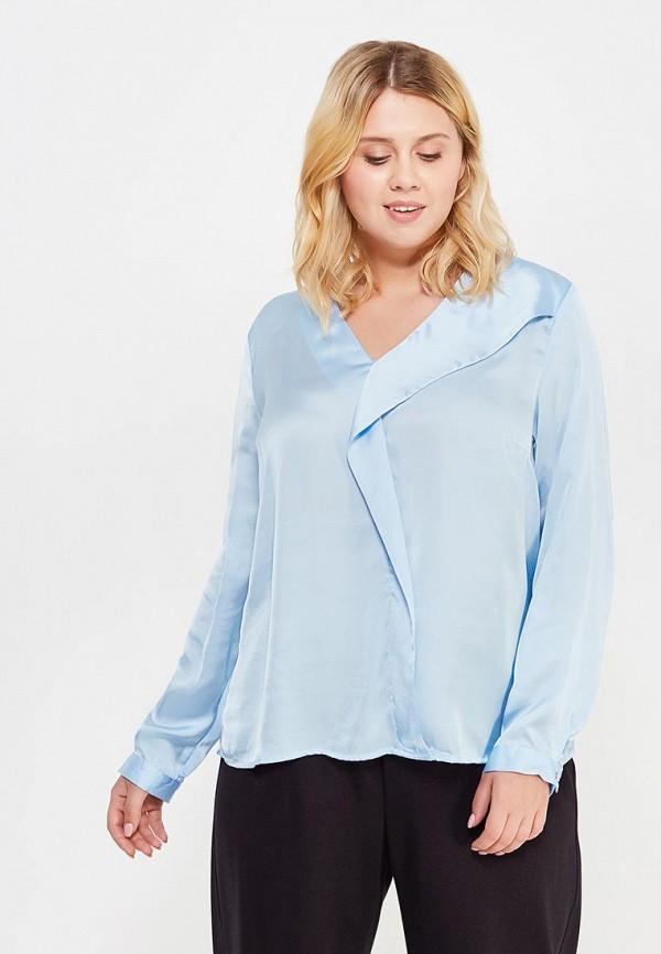 женская блузка modis, голубая