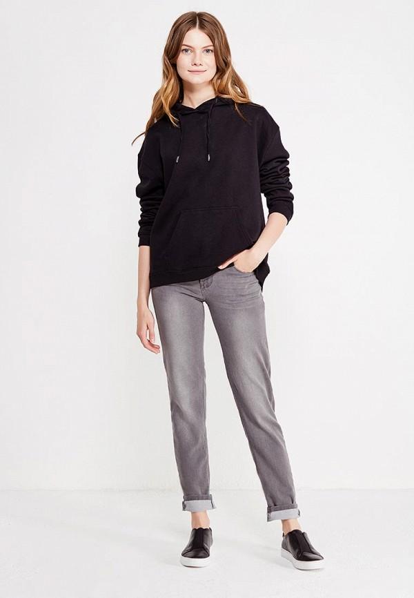 Фото 2 - женские джинсы Modis серого цвета