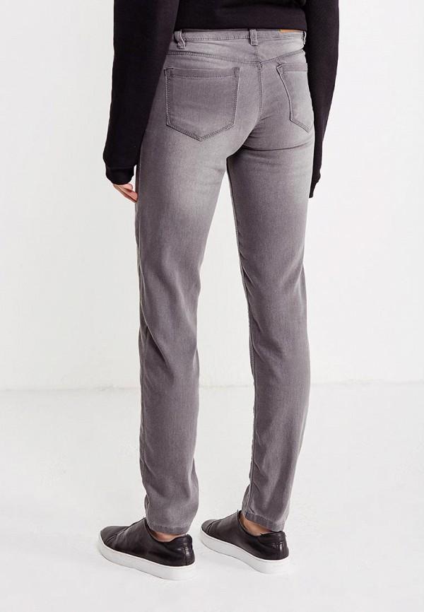 Фото 3 - женские джинсы Modis серого цвета