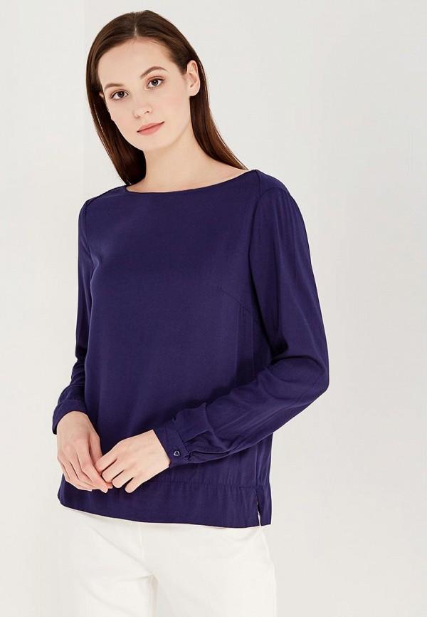 Купить Блуза Modis, MO044EWWHE39, синий, Осень-зима 2017/2018