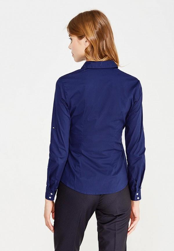 Фото 3 - женскую рубашку Modis синего цвета