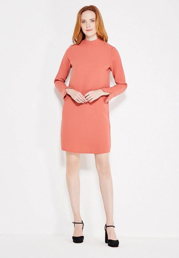 Фото 2 - женское платье Modis кораллового цвета
