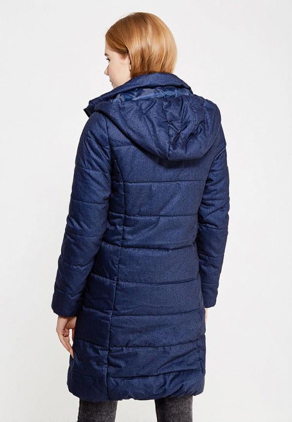 Фото 3 - Куртку утепленная Modis синего цвета