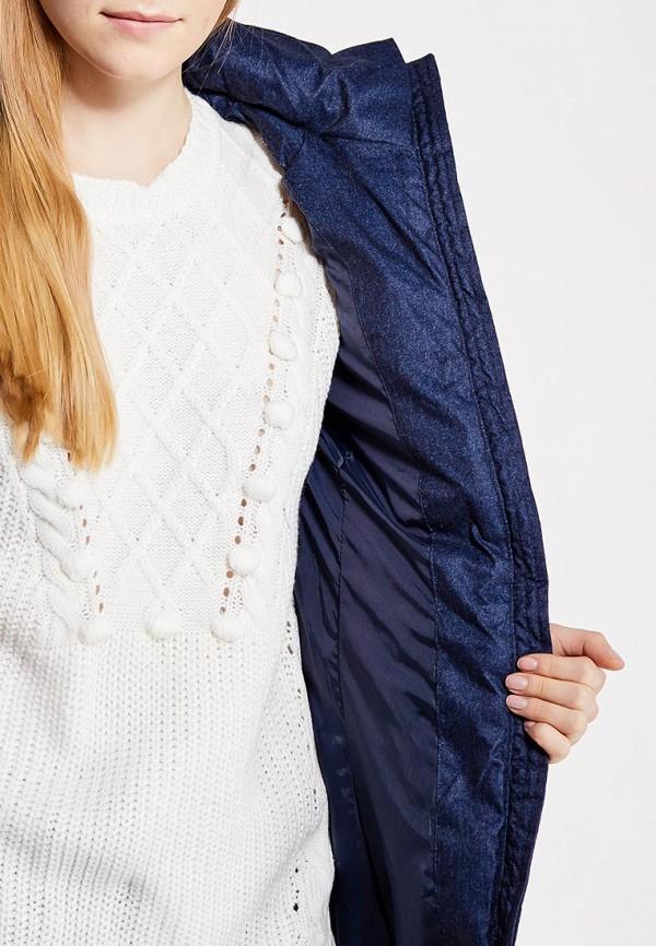 Фото 4 - Куртку утепленная Modis синего цвета