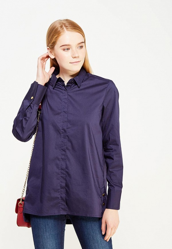 Рубашка Modis, MO044EWXMA79, синий, Осень-зима 2017/2018  - купить со скидкой