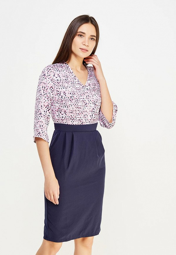 Купить Платье Modis, MO044EWXWU67, разноцветный, Осень-зима 2017/2018