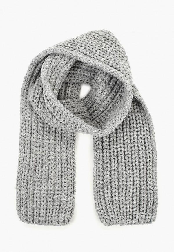 шарф modis для мальчика, серый