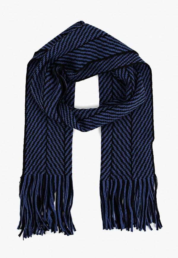 мужской шарф modis, синий