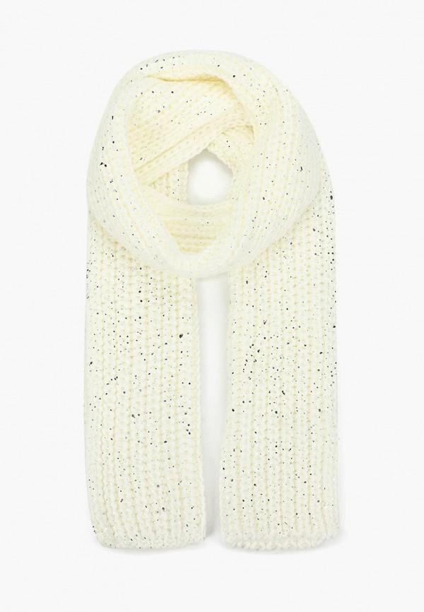 женский шарф modis, белый
