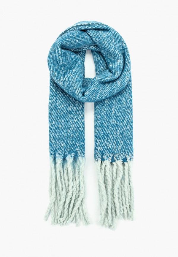 женский шарф modis, голубой
