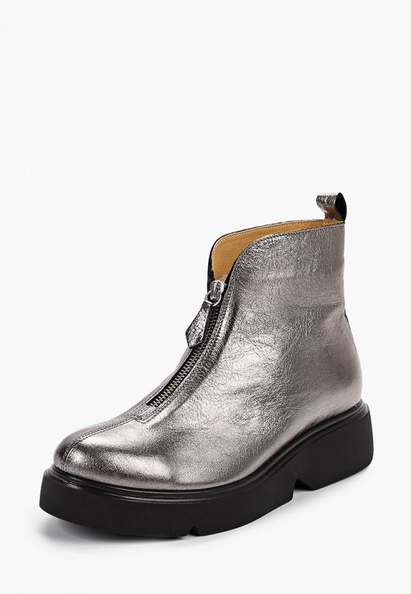 Фото 2 - женские ботинки и полуботинки Modelle серебрянного цвета