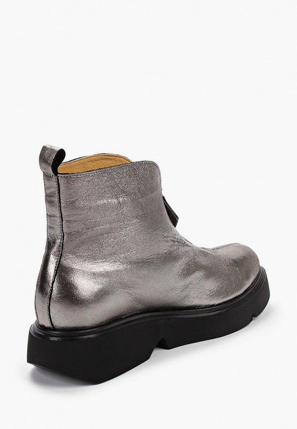 Фото 3 - женские ботинки и полуботинки Modelle серебрянного цвета