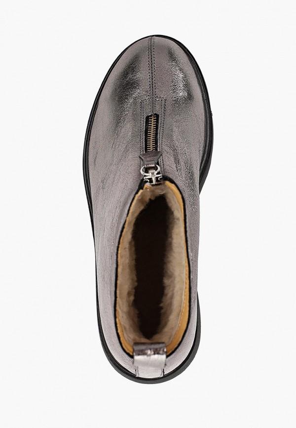 Фото 4 - женские ботинки и полуботинки Modelle серебрянного цвета