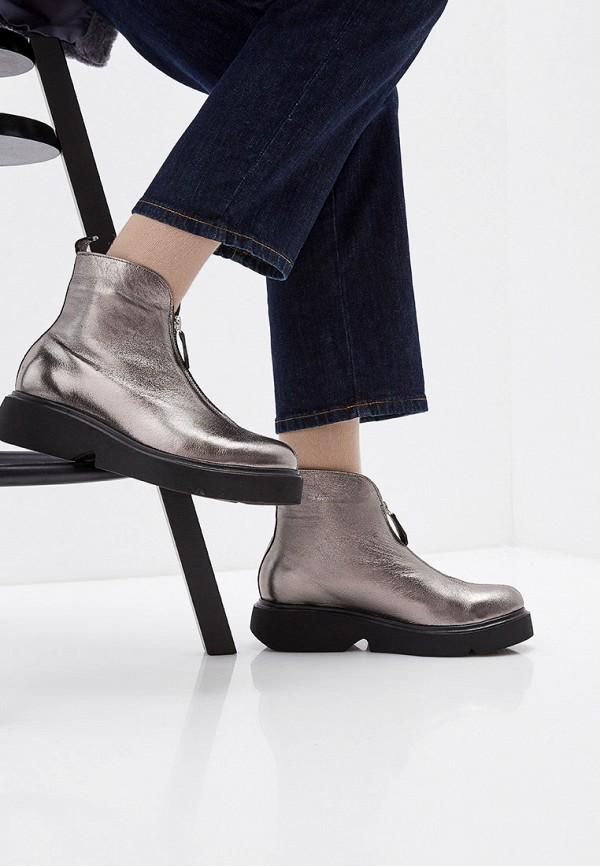 Фото 6 - женские ботинки и полуботинки Modelle серебрянного цвета