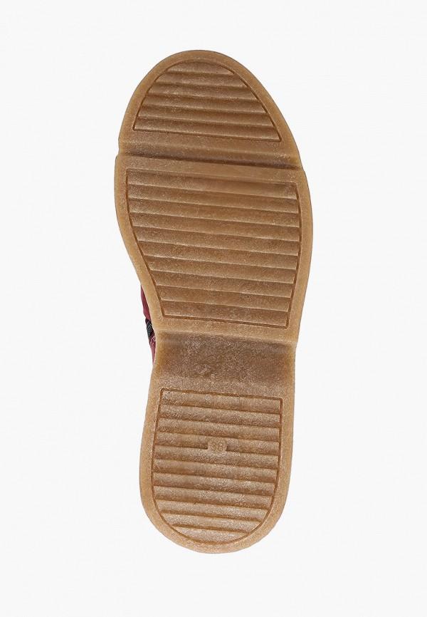 Фото 5 - женские ботинки и полуботинки Modelle бордового цвета