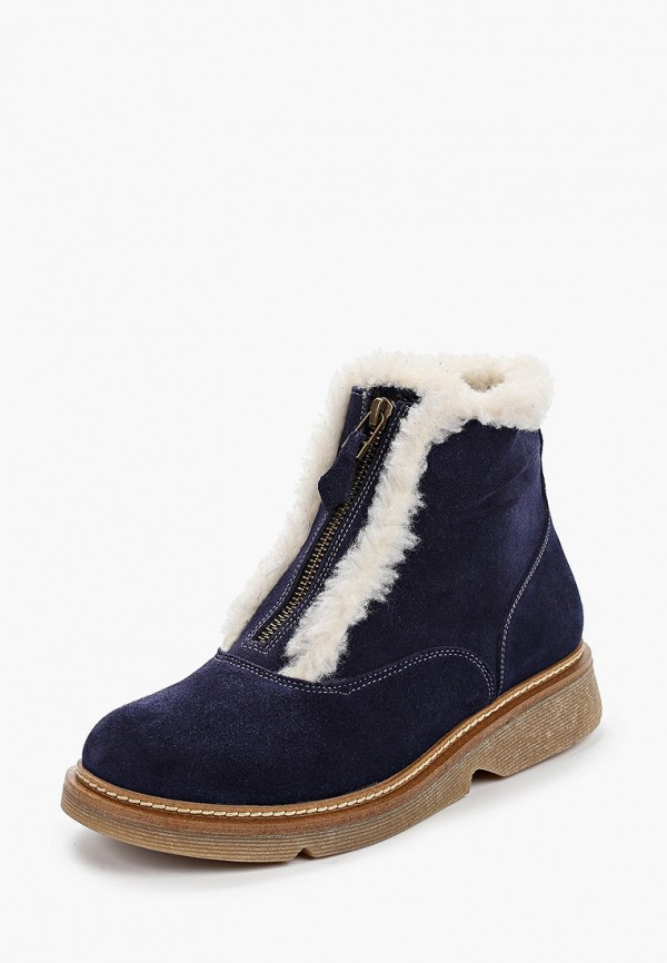 Фото 2 - женские ботинки и полуботинки Modelle синего цвета