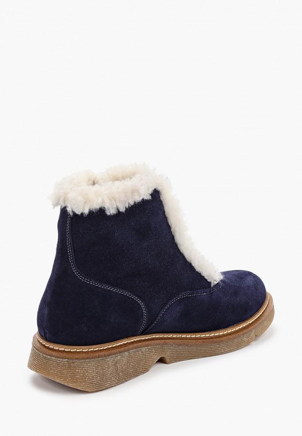 Фото 3 - женские ботинки и полуботинки Modelle синего цвета