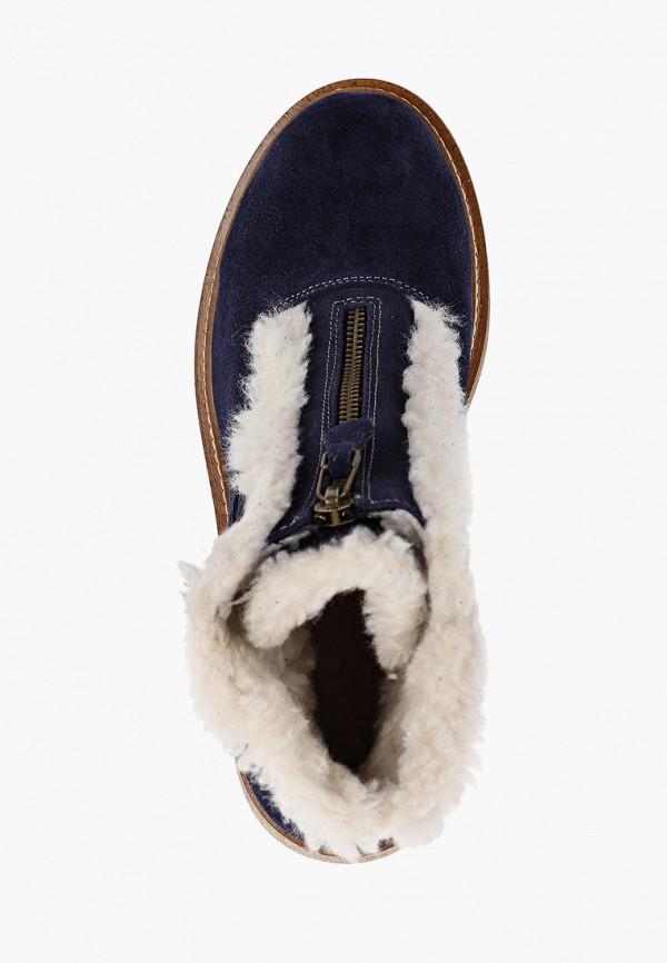 Фото 4 - женские ботинки и полуботинки Modelle синего цвета