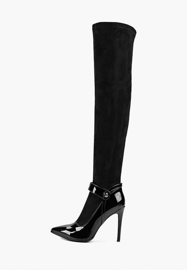 женские ботфорты modelle, черные