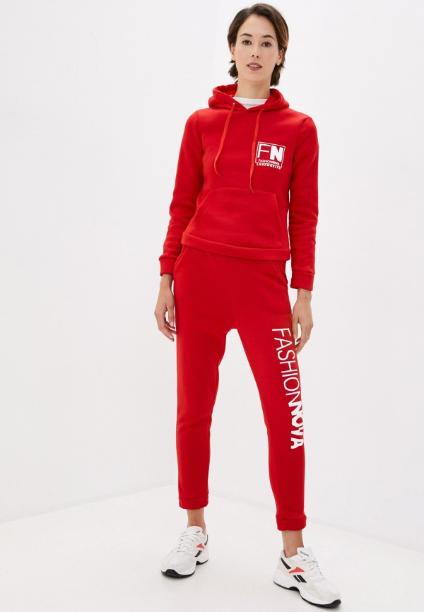 женский спортивный костюм modelle, красный