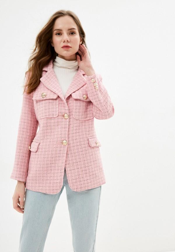 женский жакет modelle, розовый