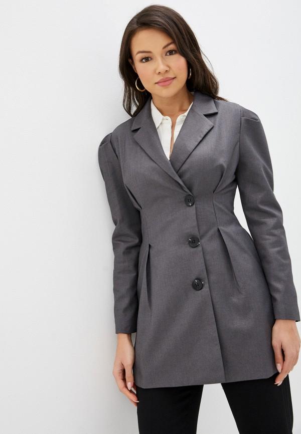 женский жакет modelle, серый