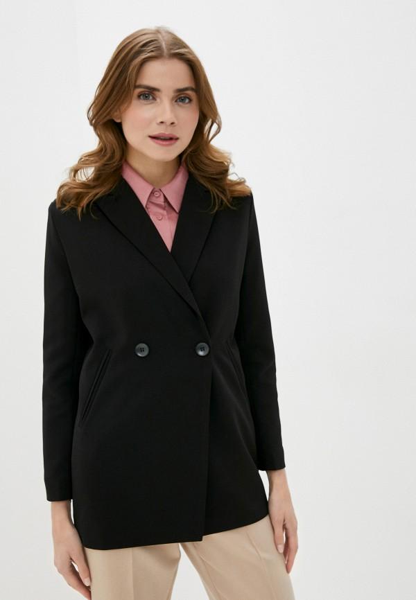женский пиджак modelle, черный