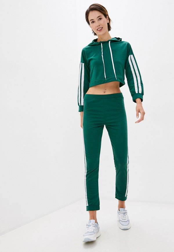женский спортивный костюм modelle, зеленый