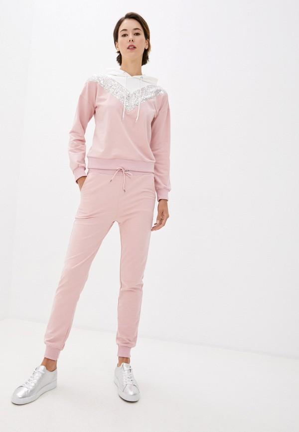 женский спортивный костюм modelle, розовый