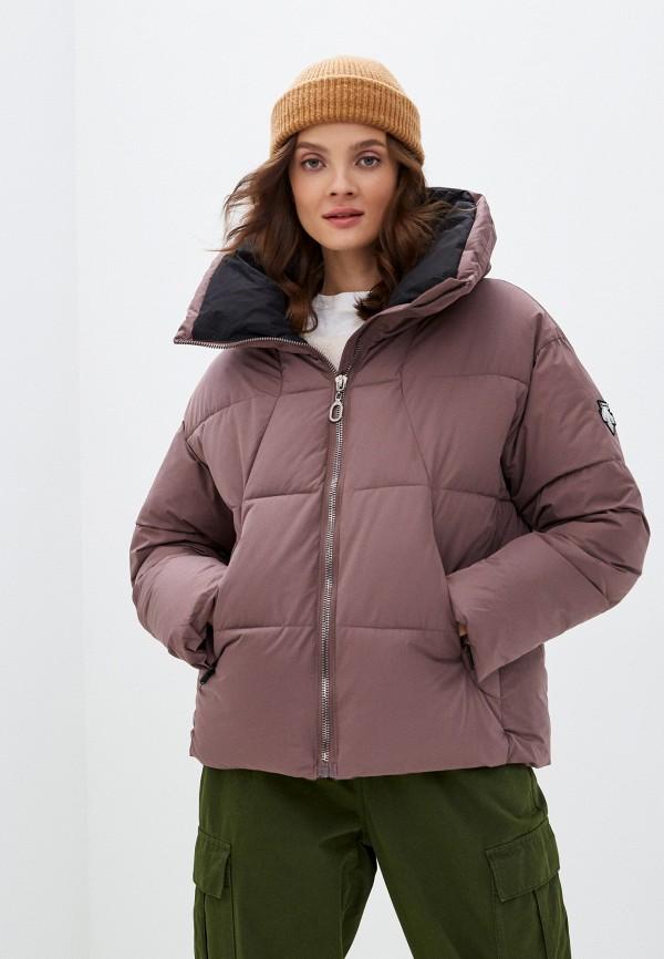 женская куртка modelle, коричневая
