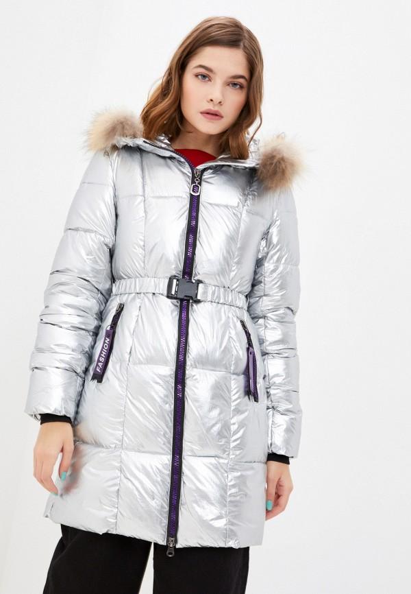 женская куртка modelle, серебряная
