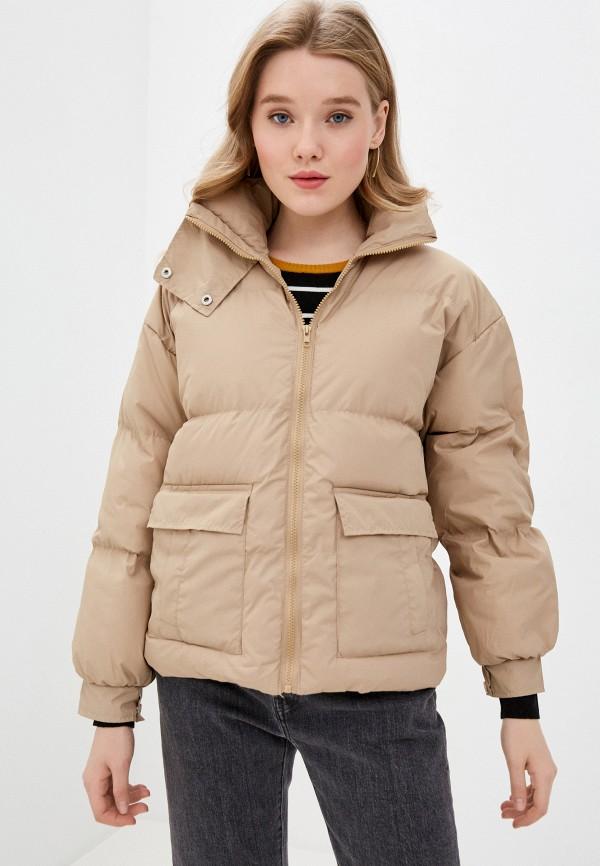 женская куртка modelle, бежевая