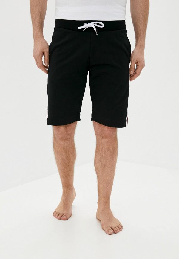 мужские шорты moschino underwear, черные