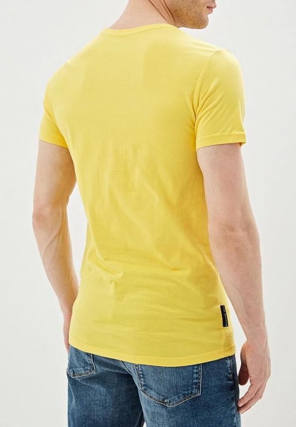 Фото 3 - мужскую футболку Mother Russia желтого цвета