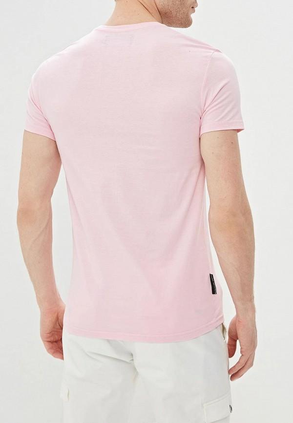 Фото 3 - мужскую футболку Mother Russia розового цвета