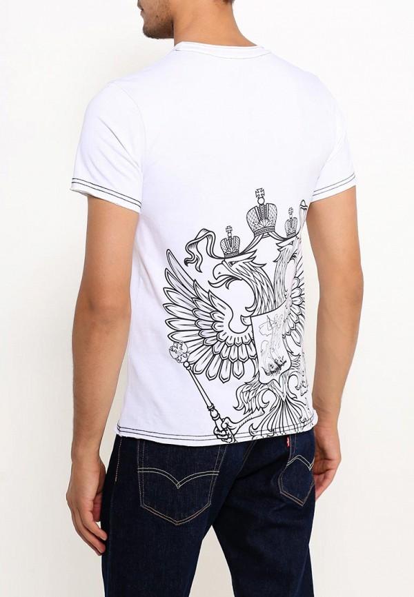Фото 4 - мужскую футболку Mother Russia белого цвета