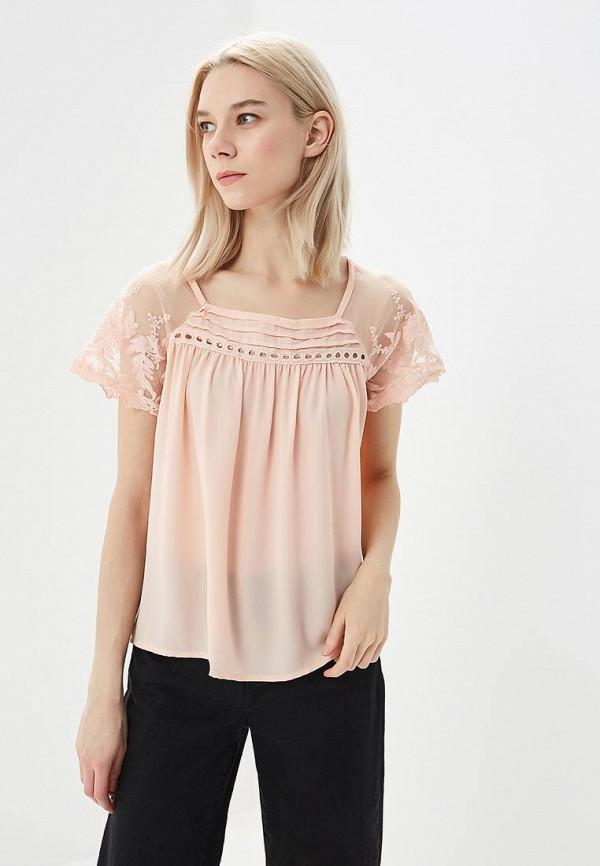 женская блузка moni&co, розовая
