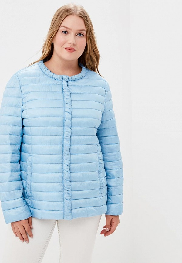 Купить Куртка утепленная Moki, mo070ewcfwa8, голубой, Осень-зима 2018/2019