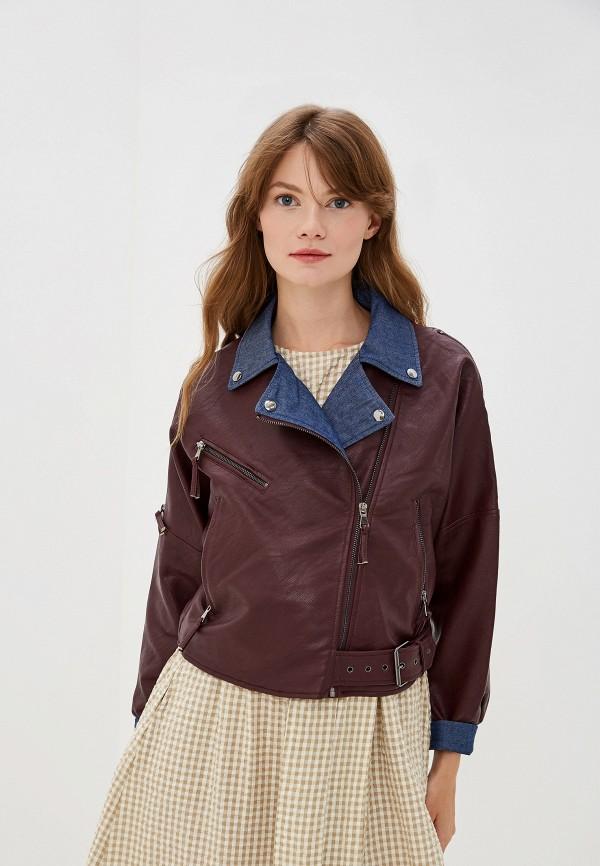 Куртка кожаная Moki