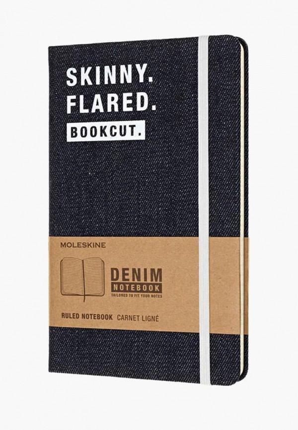 Купить Блокнот Moleskine, LIMITED EDITION DENIM, mo071ducchl7, синий, Осень-зима 2018/2019