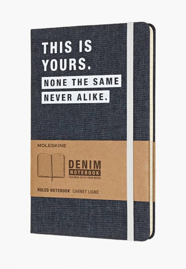 Купить Блокнот Moleskine, LIMITED EDITION DENIM, mo071ducchl8, синий, Осень-зима 2018/2019