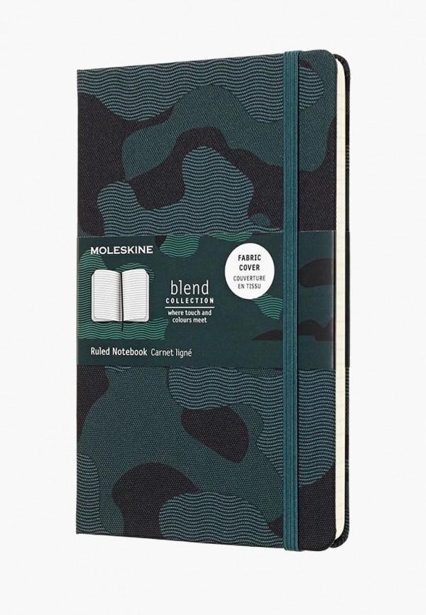 Купить Блокнот Moleskine, LIMITED EDITION BLEND, mo071ducchm2, зеленый, Осень-зима 2018/2019