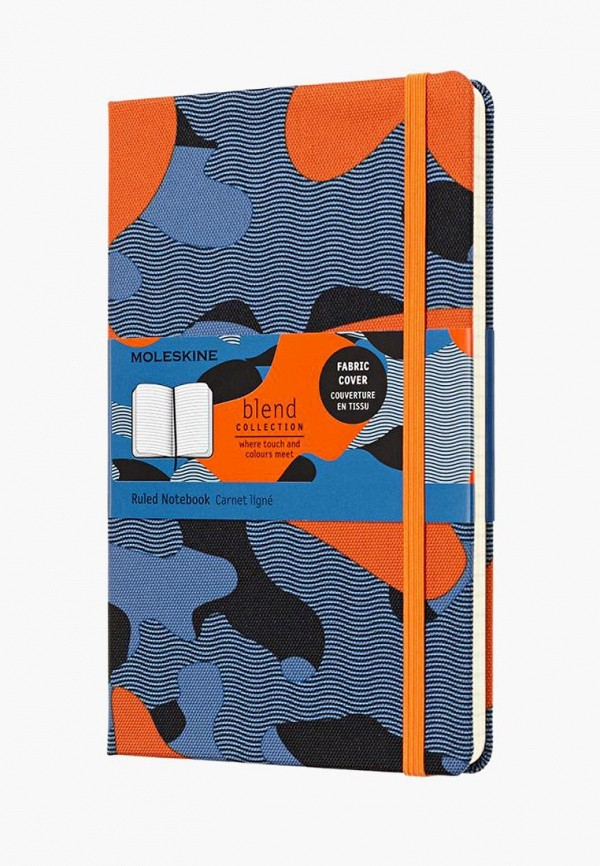 Купить Блокнот Moleskine, LIMITED EDITION BLEND, mo071ducchm4, синий, Осень-зима 2018/2019