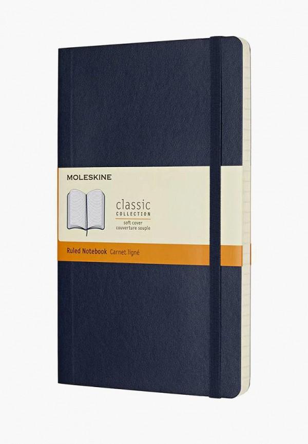 Купить Блокнот Moleskine, CLASSIC SOFT, mo071duccho6, синий, Осень-зима 2018/2019