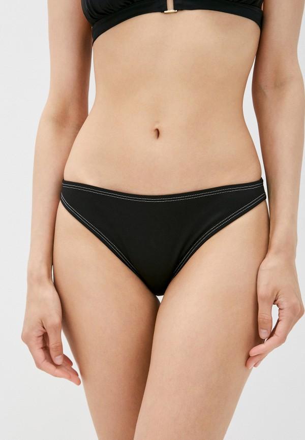 женские плавки moschino swim, черные