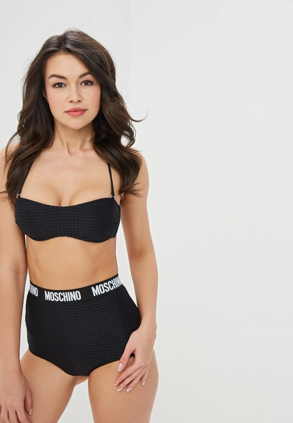 Лиф Moschino Swim Woman Moschino Swim Woman MO072EWEIUK3 цена 2017