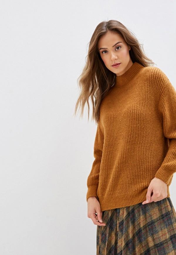 женский свитер moocci, коричневый