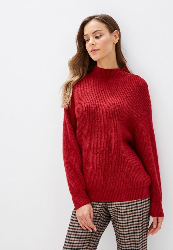 женский свитер moocci, бордовый