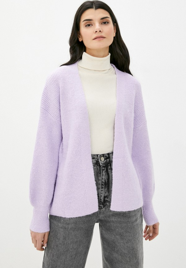 женский кардиган moocci, фиолетовый