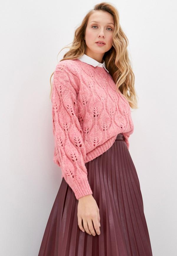 женский джемпер moocci, розовый